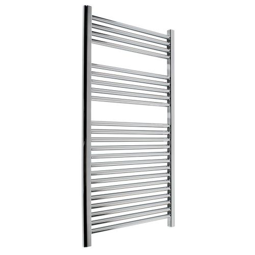 Abacus Elegance Linea Straight Towel Rail - 1120mm x 600mm - Chrome